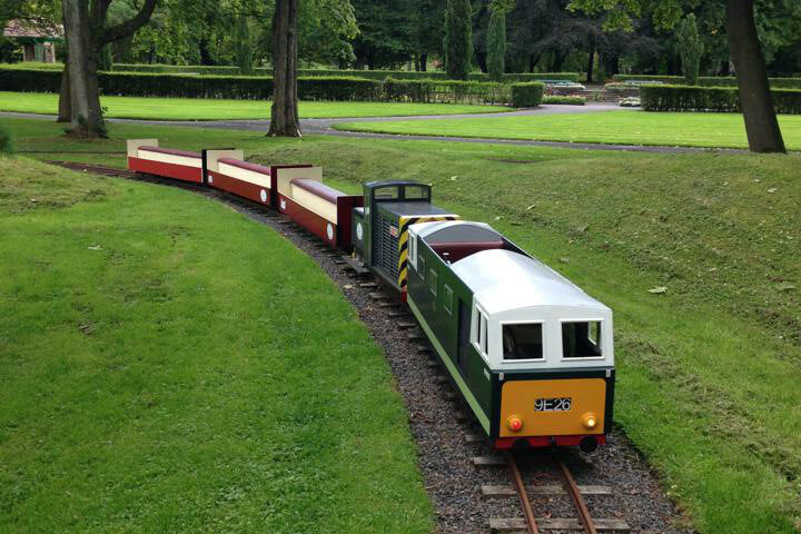 Burnley and Pendle Miniature Railway Society