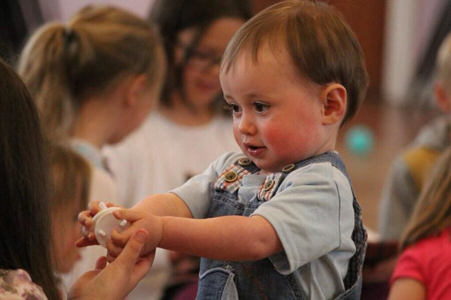 Carers and Toddlers at Central Church, Bacup