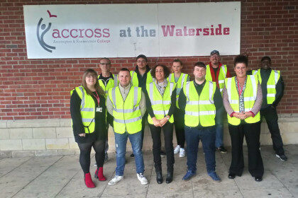 ACCROSS at the Waterside Centre