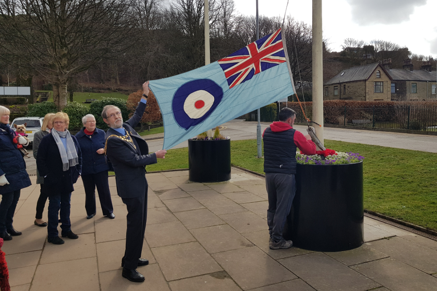 Whitworth celebrates the centenary of the RAF