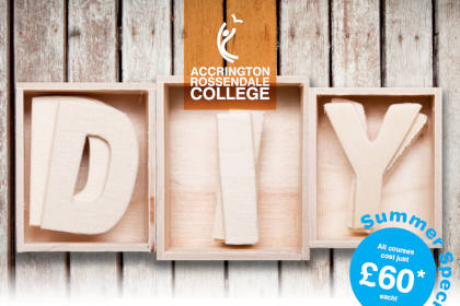 Short DIY Courses With Accrington & Rossendale College