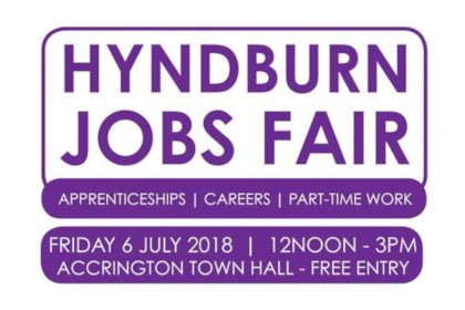 hyndburn jobs fair