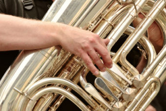 tuba brass instrument
