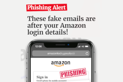 Fake emails are after your Amazon login details!