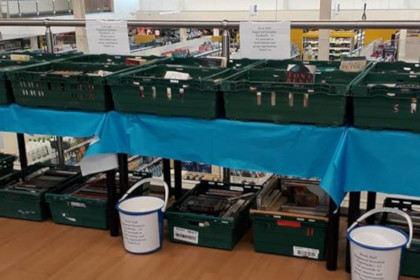 TESCO Charity Book Sale