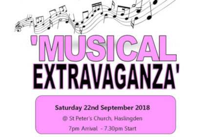 Musical Extravaganza for Rossendale Hospice!