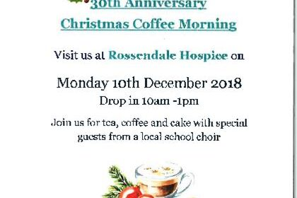 30th Anniversary Rossendale Hospice