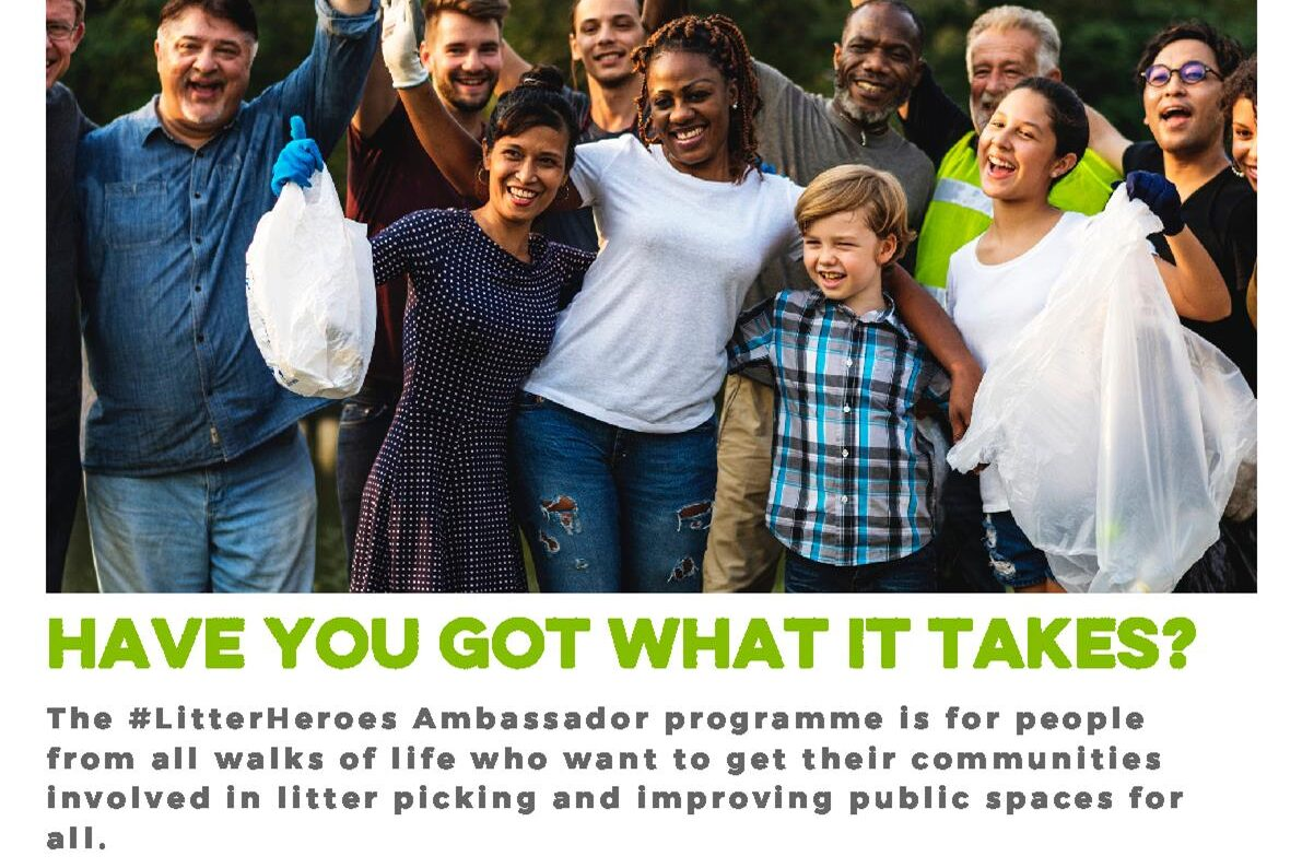 Keep Britain Tidy #LitterHeroes Ambassador