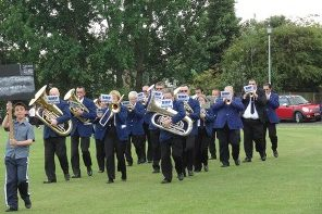 Goodshaw Band Senior Rehearsals