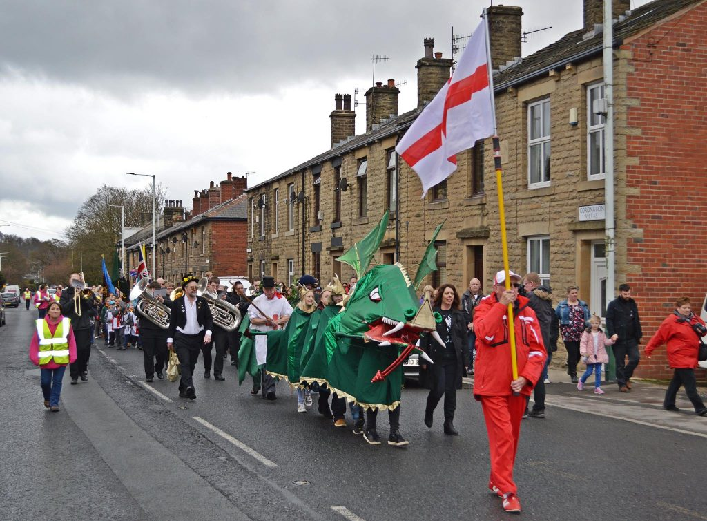 Whitworth Town Council - St George celebrations 2016