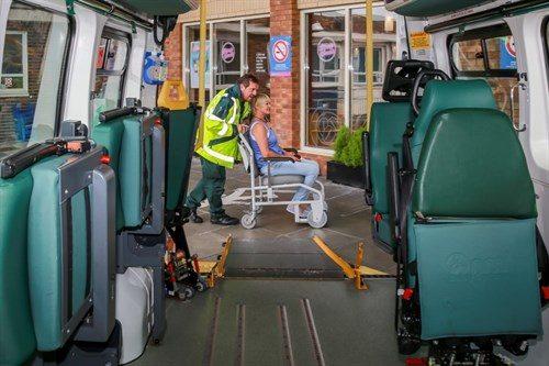 Patient Transport Service – Lancashire