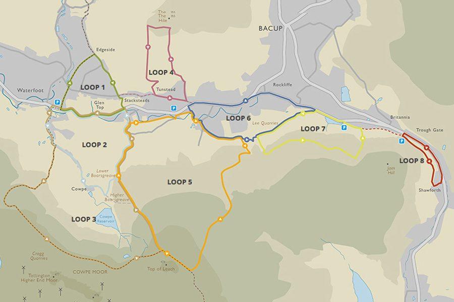 Routes Around Rossendale
