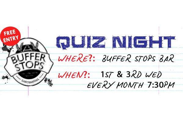 Buffer Stops Quiz Night