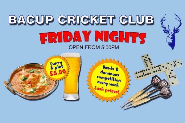 Friday Nights at Bacup Cricket Club