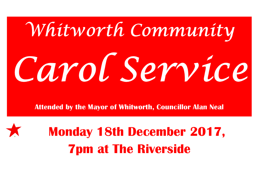 Whitworth Community Carol Service 18-12-17