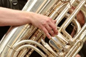 tuba brass instrument